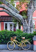 Charming downtown Old Naples, Florida, USA.