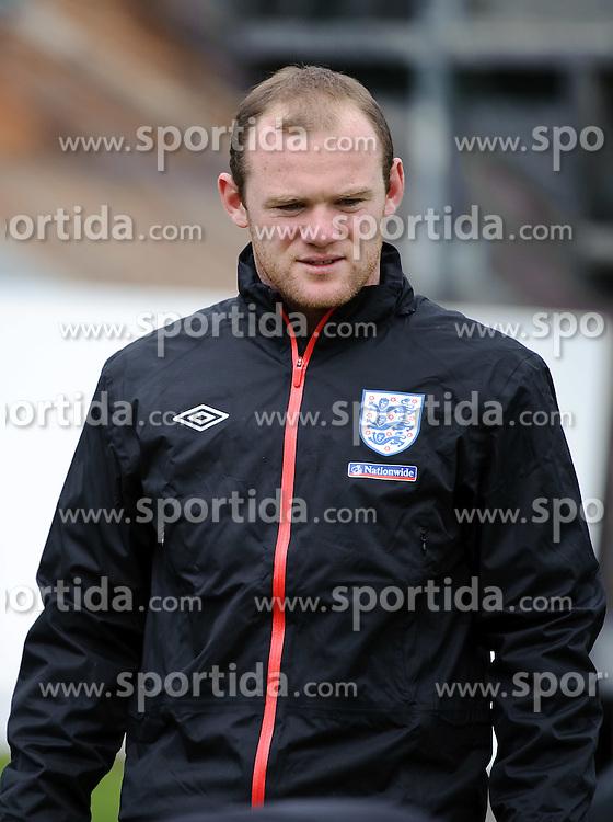 19.05.2010, Arena, Irdning, AUT, FIFA Worldcup Vorbereitung, Training England, im Bild Wayne Rooney (Manchester United), EXPA Pictures © 2010, PhotoCredit: EXPA/ S. Zangrando / SPORTIDA PHOTO AGENCY