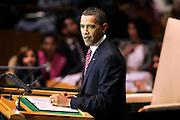 Barack Obama, President of the United States of America, addresses the general debate of the sixty-fourth session of the General Assembly.