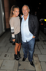 Sir Philip Green and daughter Chloe Green at the C restaurant in Mayfair, London, UK. 29/05/2013<br />