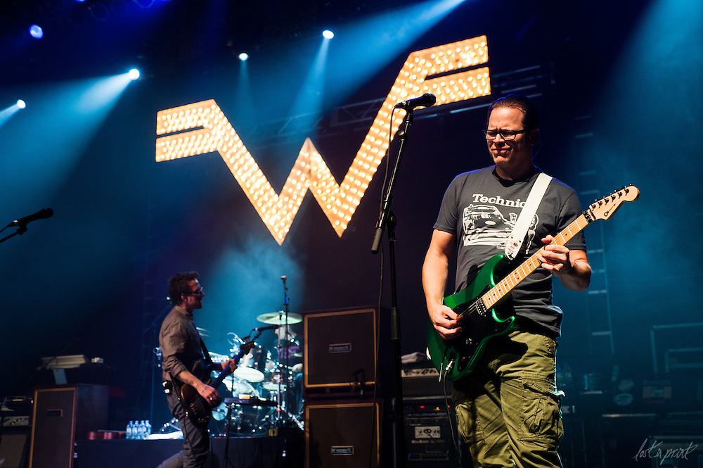Weezer at The Congress Theater in Chicago, IL on October 9, 2011