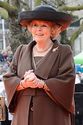 Koningin Beatrix heropent het Rijksmuseum na een verbouwing van bijna tien jaar.<br /> <br /> Queen Beatrix reopens the the Rijksmuseum after renovations of almost ten years.<br /> <br /> Op de foto / On the photo:  Koningin Beatrix / Queen Beatrix