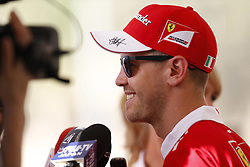 November 23, 2017 - Abu Dhabi, United Arab Emirates - Motorsports: FIA Formula One World Championship 2017, Grand Prix of Abu Dhabi, .#5 Sebastian Vettel (GER, Scuderia Ferrari) (Credit Image: © Hoch Zwei via ZUMA Wire)