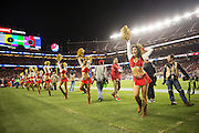 San Francisco Gold Rush perform during a San Francisco 49ers game against the Los Angeles Rams at Levi's Stadium in Santa Clara, Calif., on September 12, 2016. (Stan Olszewski/Special to S.F. Examiner)