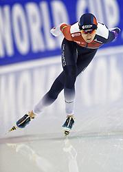 11-12-2015 NED: ISU World Cup, Heerenveen<br /> 3000 meter vrouwen / Martina Sablikova wint de 3000 meter