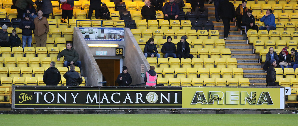 Tony Macaroni Arena during the Livingston v Dumbarton  Scottish Championship  19  December 2015 <br /> <br /> (c) Andy Scott | SportPix.org.uk