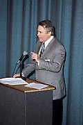 David Wilhelm Speeking To The Guests ...OU Government Luncheon, Tuesday, April 21st  in Columbus