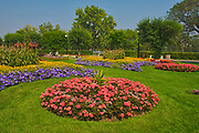 Gardens at Saskatchewan Legislature<br />Regina<br />Saskatchewan<br />Canada