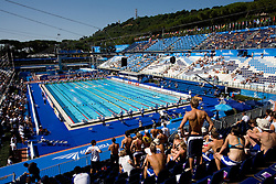 Athletes swimming in the Olympic pool during the 13th FINA World Championships Roma 2009, on August 2, 2009, at the Stadio del Nuoto,  in Foro Italico, Rome, Italy. (Photo by Vid Ponikvar / Sportida)