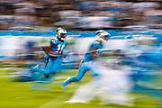 October 17, 2017: Carolina Panthers vs the Philadelphia Eagles. Curtis Samuel