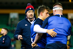 England U20 coach Alex Codling - Rogan/JMP - 21/02/2020 - Franklin's Gardens - Northampton, England - England U20 v Ireland U20 - Under 20 Six Nations.