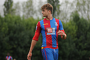 Patrick Bamford looks back on the action during the U21 Professional Development League match between U21 QPR and U21 Crystal Palace at the Loftus Road Stadium, London, England on 31 August 2015. Photo by Michael Hulf.