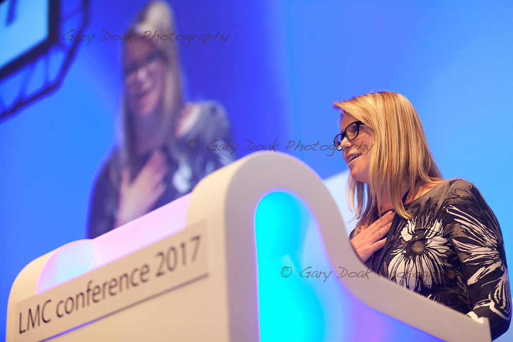 Diana Hunter<br /> BMA LMC's Conference<br /> EICC, Edinburgh<br /> <br /> 18th May 2017<br /> <br /> Picture by Gary Doak