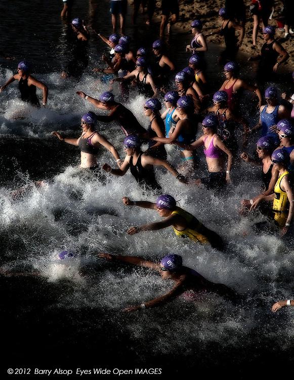 Luke Harrop Memorial Gold Coast Triathlon<br /> &copy; 2012 Barry Alsop Photographer<br /> Eyes Wide Open IMAGES