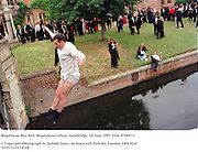 Magdalene May Ball, Magdalene College, Cambridge. 18 June 1997. Film 97585f13<br />
