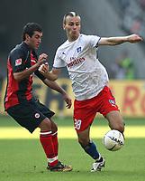 v.l. Daniyel Cimen, Danijel Ljuboja HSV<br /> Bundesliga Eintracht Frankfurt - Hamburger SV<br />  Norway only