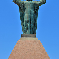 Cristo de la Paz Statue on in Arica, Chile<br />