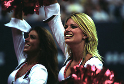 Stock photo of Houston Texans cheerleaders performing during a game