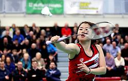 Mizuki Fuji of Bristol Jets in action - Photo mandatory by-line: Robbie Stephenson/JMP - 06/02/2017 - BADMINTON - SGS Wise Arena - Bristol, England - Bristol Jets v Surrey Smashers - AJ Bell National Badminton League