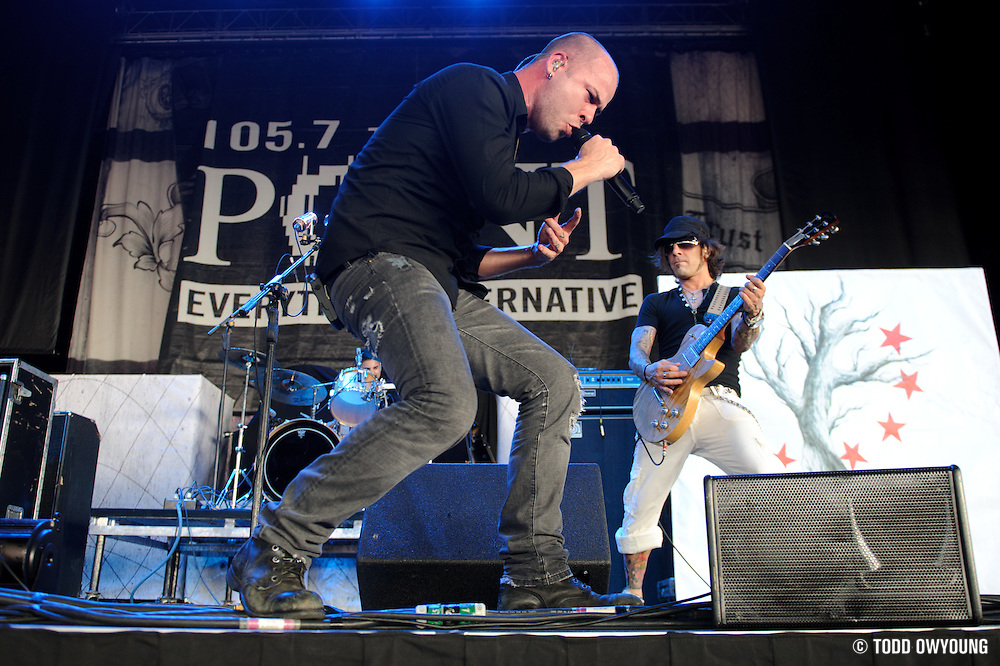 Photos of the hard rock band Hurt performing at Pointfest 27 on August 14, 2010 in St. Louis.