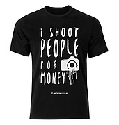A joke for event and portrait photographers.. Let people know how dangerous you really are with your camera! ;)<br />
