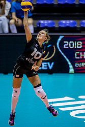 22-08-2017 NED: World Qualifications Belgium - Czech Republic, Rotterdam<br /> Lise Van Hecke #10 of Belgium