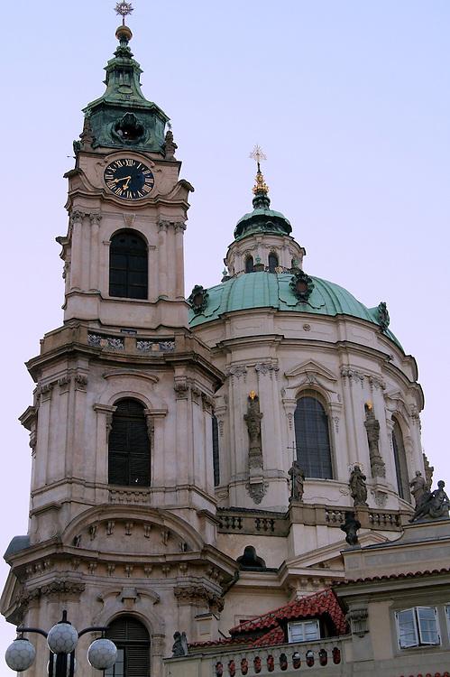 St. Nicholas Cathedral (Chram sv. Mikulase), Prague, Czech Republic