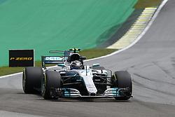November 10, 2017 - Sao Paulo, Brazil - Motorsports: FIA Formula One World Championship 2017, Grand Prix of Brazil, ..#77 Valtteri Bottas (FIN, Mercedes AMG Petronas F1 Team) (Credit Image: © Hoch Zwei via ZUMA Wire)