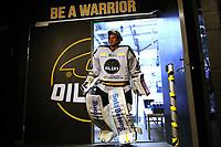 GET-ligaen Ice Hockey, 27. october 2016 ,  Stavanger Oilers v Stjernen<br /> Henrik Holm fra Stavanger Oilers i løpet av pause mot Stjernen<br /> Foto: Andrew Halseid Budd , Digitalsport