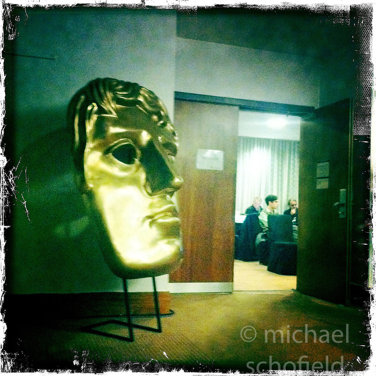 Scottish Baftas..Hipstamatic images taken on an Apple iPhone..©Michael Schofield.