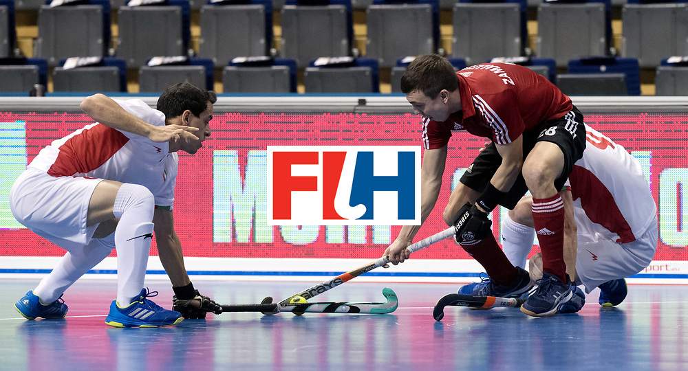 BERLIN - Indoor Hockey World Cup<br /> Men: Iran - Russia<br /> foto: ZAMALUTDINOV Ilfat.<br /> WORLDSPORTPICS COPYRIGHT FRANK UIJLENBROEK