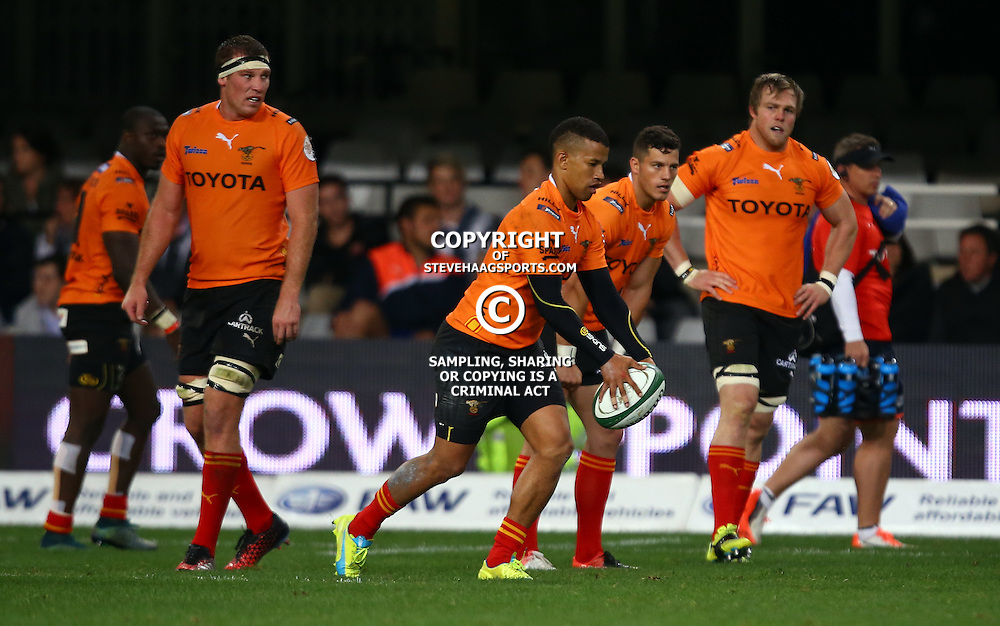 DURBAN, SOUTH AFRICA - SEPTEMBER 10: Clayton Blommetjies of the Toyota Free State Cheetahs Cheetahs during the Currie Cup match between the Cell C Sharks and Toyota Cheetahs at Growthpoint Kings Park on September 10, 2016 in Durban, South Africa. (Photo by Steve Haag/Gallo Images)
