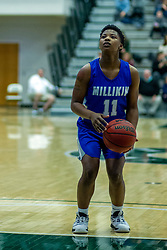 BLOOMINGTON, IL - January 04:  Briana Anthony during a college women's basketball game between the IWU Titans  and the Millikin Big Blue on January 04 2020 at Shirk Center in Bloomington, IL. (Photo by Alan Look)