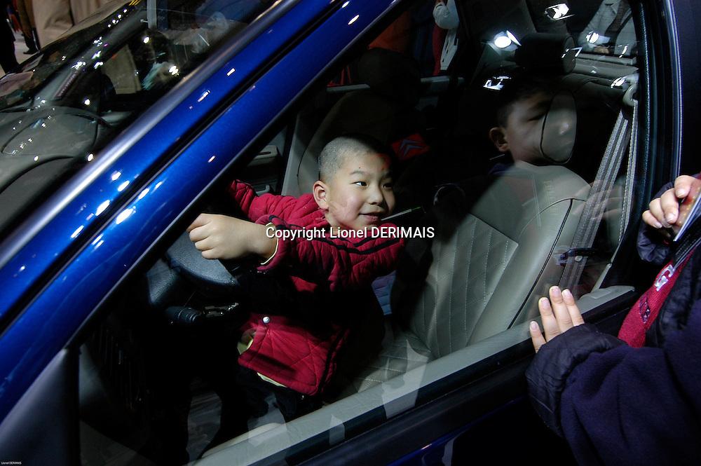 Beijing Motorshow in November 2006 in Beijing. 3.8M cars were sold last year.