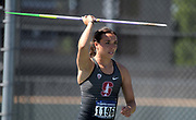 May24, 2018; Sacramento, CA, USA; Mackenzie Little of Stanford wins the women's javelin with a throw of 187-7 (57.19m) during the NCAA West Preliminary at Hornet Stadium.