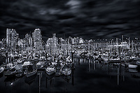 Fishermen's Wharf, False Creek, Vancouver.