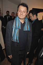 Artist JOHNNY YEO at an exhibition of artist Natasha Law's work entitled 'Room' hosted by the Eleven gallery in association with Ruinart champagne at 121 Charing Cross Road, London WC2 on 16th January 2008.  Following the private view a dinner was held at Soho House hosted by Ruinart.<br /> <br />  (EMBARGOED FOR PUBLICATION IN UK MAGAZINES UNTIL 1 MONTH AFTER CREATE DATE AND TIME) www.donfeatures.com  +44 (0) 7092 235465