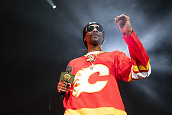 February 22, 2019 - Calgary, Alberta, Canada - Snoop Dogg performs at the Scotiabank Saddledome in Calgary, Alberta. (Credit Image: © Baden Roth/ZUMA Wire)