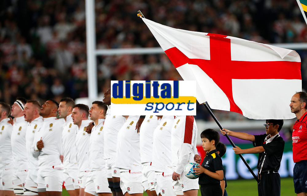 Rugby Union - 2019 Rugby World Cup - Final: England vs. South Africa<br /> <br /> Owen Farrell of England at International Stadium, Yokohama.<br /> <br /> COLORSPORT/LYNNE CAMERON