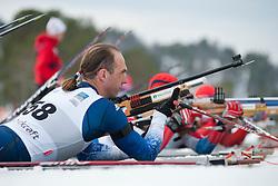 SOULE Andrew, USA, Short Distance Biathlon, 2015 IPC Nordic and Biathlon World Cup Finals, Surnadal, Norway