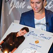 """NLD/Volendam/20120809 - CD presentatie en Gouden Plaaat Jan Smit """" Vrienden"""","""