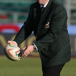 PADUA, ITALY - NOVEMBER 22: Richie Gray (Breakdown Consultant) during the Castle Lager Outgoing Tour match between Italy and South African at Stadio Euganeo on November 22, 2014 in Padua, Italy. (Photo by Steve Haag/Gallo Images)