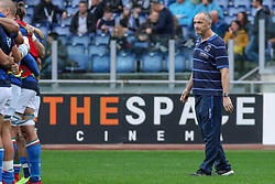 November 24, 2018 - Rome, Rome, Italy - Conor O'Shea during the Test Match 2018 between Italy and New Zealand at Stadio Olimpico on November 24, 2018 in Rome, Italy. (Credit Image: © Emmanuele Ciancaglini/NurPhoto via ZUMA Press)