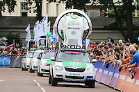 Tour de France London, Buckingham Palace, London UK, 07 July 2014, Photo by Richard Goldschmidt