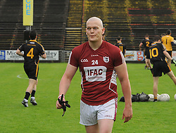 Former Knockmore player Declan Sweeney came on as a subsitute for Balla in the junior semi final.<br /> Pic Conor McKeown