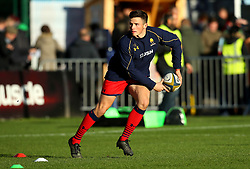 Will Butler of Worcester Warriors - Mandatory by-line: Robbie Stephenson/JMP - 12/11/2017 - RUGBY - Twickenham Stoop - London, England - Harlequins v Worcester Warriors - Anglo-Welsh Cup