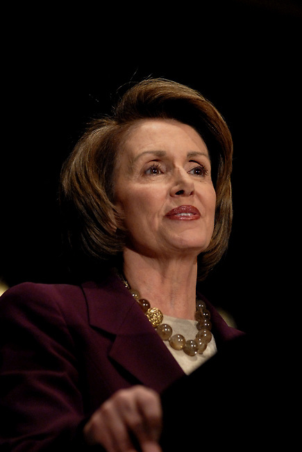 Speaker of the House, Nancy Pelosi