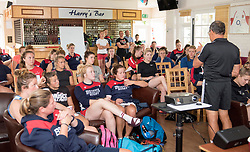 Bristol Ladies listen to advice from performance coach Dave Alred - Mandatory by-line: Paul Knight/JMP - 29/07/2017 - RUGBY - Bristol Ladies Rugby pre-season training