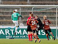 FODBOLD: Nichlas Rohde (AB) scorer til 1-0 under kampen i NordicBet Ligaen mellem AB og FC Helsingør den 11. maj 2017 på Helsingør Stadion. Foto: Claus Birch
