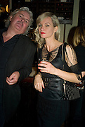 STEVE DALY AND TREE CARR, book launch for 'Private Collection' by Danny Moynihan. Hix Oyster and Chop House. Cowcross st. London. 12 June 2008.  *** Local Caption *** -DO NOT ARCHIVE-© Copyright Photograph by Dafydd Jones. 248 Clapham Rd. London SW9 0PZ. Tel 0207 820 0771. www.dafjones.com.